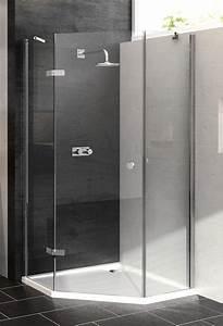Hüppe Dusche Ersatzteile : h ppe 5 eck dusche enjoy schwingt r 1 fl gelig links ~ Frokenaadalensverden.com Haus und Dekorationen
