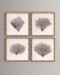 20 best sea fan art images on pinterest beach art beach With best brand of paint for kitchen cabinets with sea fan framed wall art