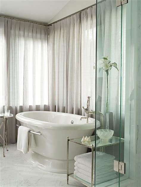 bathroom drapery ideas pure white drapery bathroom curtains home interiors