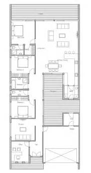 narrow home floor plans contemporary home plan co105 modern house plan to narrow