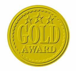 Image result for gold award image