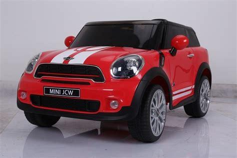 auto macchina elettrica mini paceman rossa 12v 1 posto per
