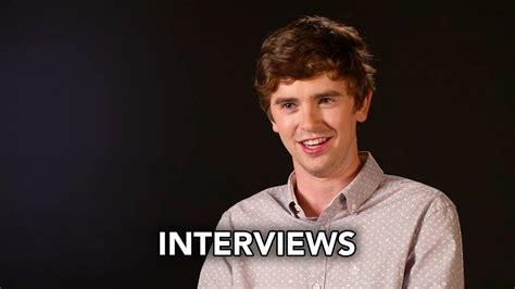 good doctor abc cast interviews hd freddie