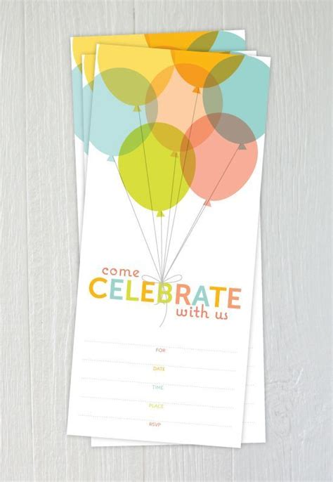 17 Free Birthday Invitation Designs (With images
