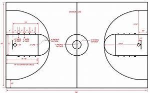 Nba Basketball Court Dimensions Diagram, Nba, Free Engine ...