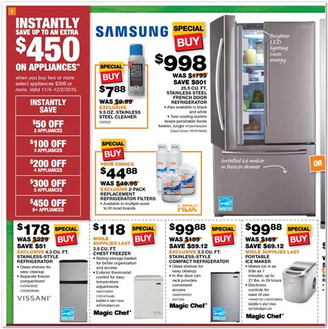 Home Depot Black Friday Ad And Homedepotcom Black Friday