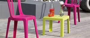 Petite Table De Jardin : table basse de jardin miami grosfillex ~ Dailycaller-alerts.com Idées de Décoration