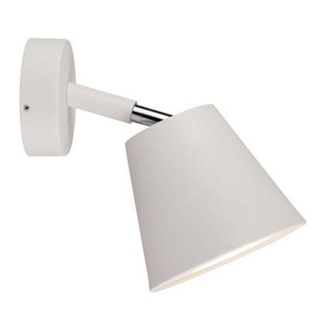 ip s6 bathroom wall light in white 78531001 requires 8w