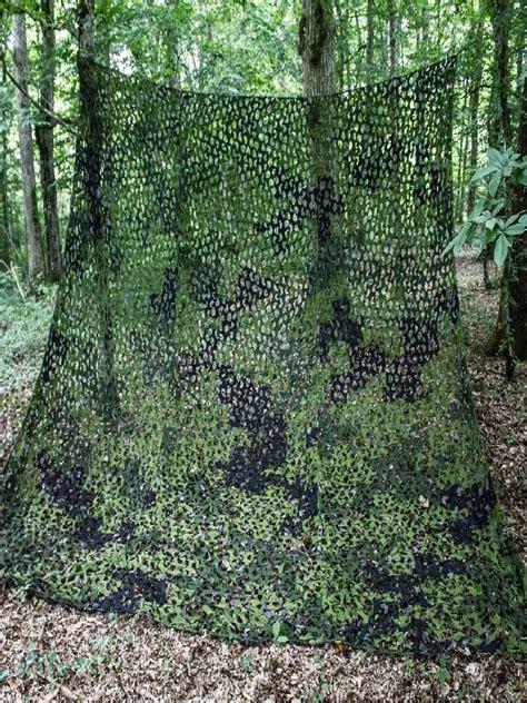 filet de camouflage militaire 5mx5m vert noir