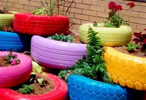 Gartendeko Mit Reifen by Selbstgemachte Gartendeko 25 Gartenideen F 252 R Mehr