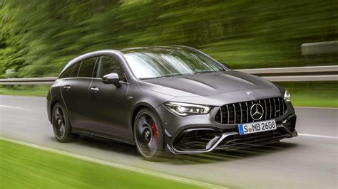 The cla35 sticks with amg's look for a debut of the redesigned cla45 shooting brake later this year. Mercedes-AMG CLA 45 Shooting Brake (2019) - Toutes les infos, toutes les photos