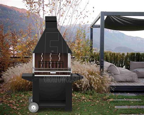 grate da giardino fogher caminetto grill da giardino in acciaio