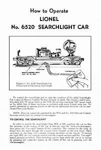 Lionel Trains 6520 Searchlight Car