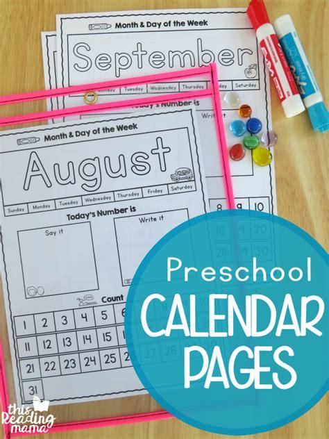 preschool printables  reading mama