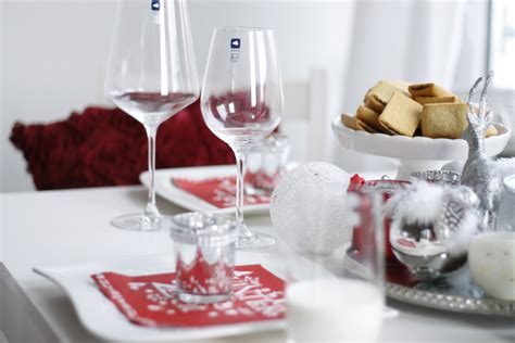Dekorieren Zu Weihnachten by Tischdeko Zu Weihnachten Mit Leonardo Glasware