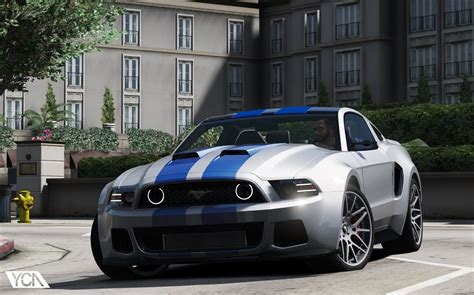 Ford Mustang Gt 2013 by Ford Mustang Gt Nfs Gt500 2013 Add On Gta5 Mods