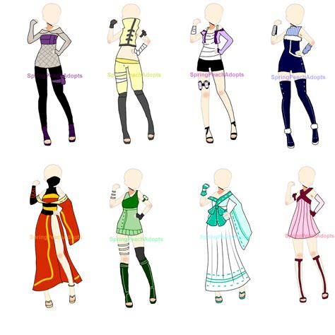 download anime batch naruto naruto outfit adopts batch 1 closed by springpeachadopts