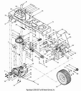 Mtd 14az808k131  2002  Parts Diagram For Drive  Wheels