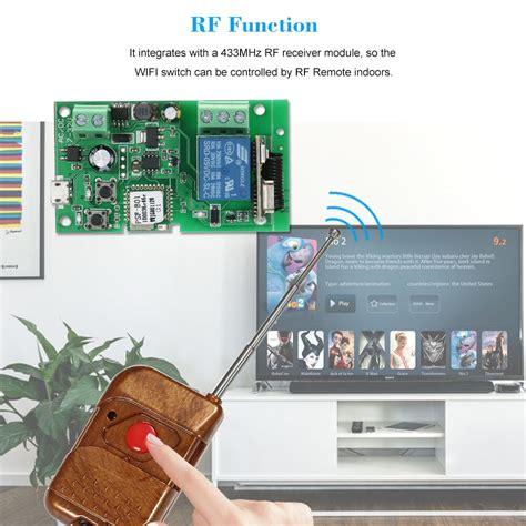 dc5v 12v 24v 32v rf 433mhz wifi switch wireless relay module smart home for access
