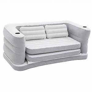 Bestway inflatable sofa bed inflatable air beds bm for Inflatable sofa bed