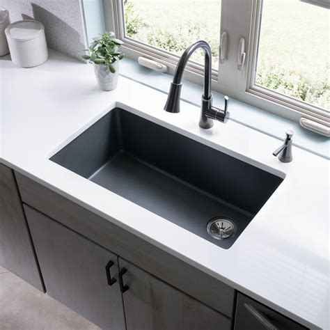 spotlight quartz kitchen sink collections by elkay abode