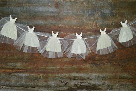 bride gown banner wedding shower decoration bridal