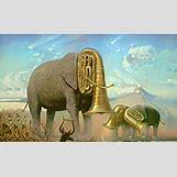 Surrealism Salvador Dali Elephants | 660 x 400 jpeg 82kB