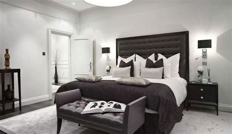 camere da letto bianche e nere 35 eleganti camere da letto in bianco e nero camere da