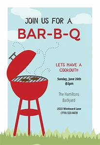 Farewell Invitation Templates Free Download Bbq Cookout Bbq Party Invitation Template Free