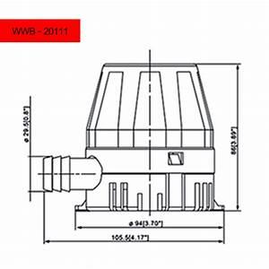 450 Gph Bilge Pump - 12v - Dc - 3  4 In