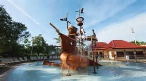 Disney Caribbean Beach Resort Pool