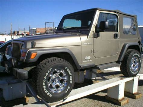 tan jeep wrangler 2 door denison car dealer sherman tx denison used cars fred