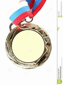 Blank Gold Medal Royalty Free Stock Photography - Image ...