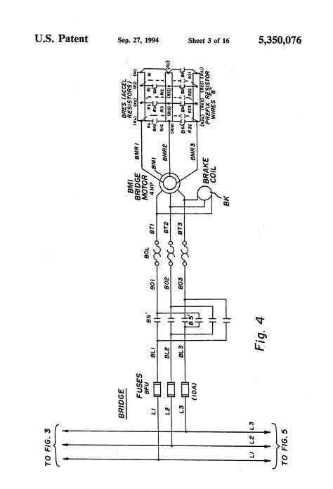 patent us5350076 bridge crane electric motor