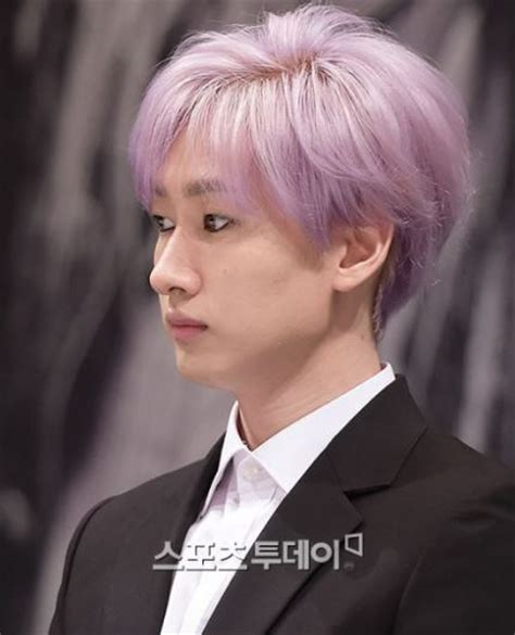 Who Rocks Purple Hair Kpop Male Edition Updated