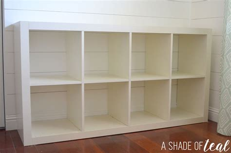 ikea bookshelf cube how to add wood to a ikea expedit cube shelf