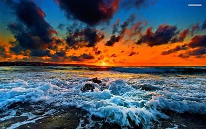 Waves Beach Desktop Backgrounds Wallpapers Wave Ocean