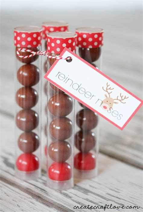 reindeer noses christmas party favors 35 adorable favors ideas all about