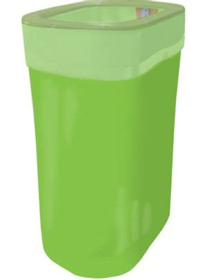 kiwi green pop  trash bin    party city
