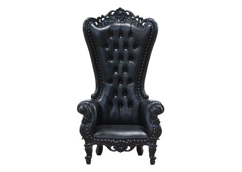 King Furniture Armchair by King Chair Black Blackcraft Cult