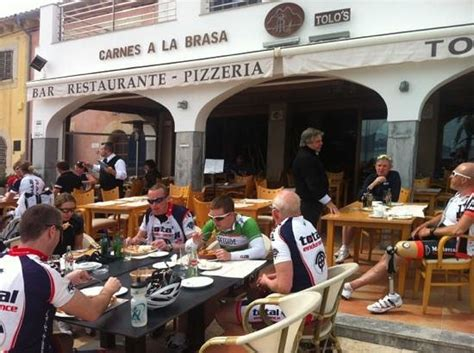 el restaurante de los ciclistas picture of tolos port