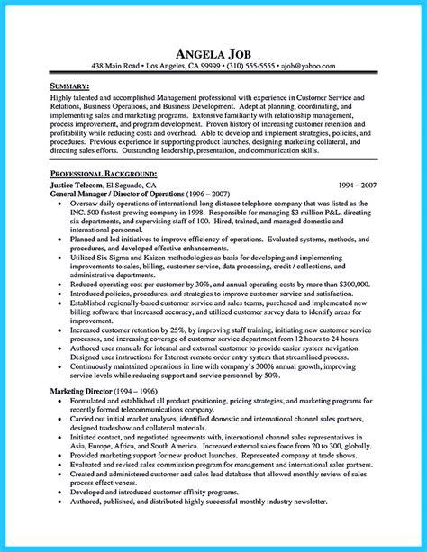 Exle Of A Well Written Cv by Well Written Csr Resume To Get Applied Soon