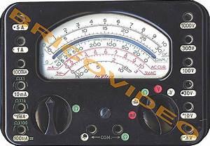 Utilisation D Un Multimètre Digital : metrix multim tres analogiques ~ Gottalentnigeria.com Avis de Voitures