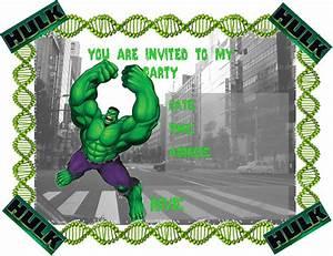 Invitation Wording Party Hulk Party Invitations Free