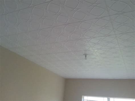 circles and styrofoam ceiling tile 20 x20