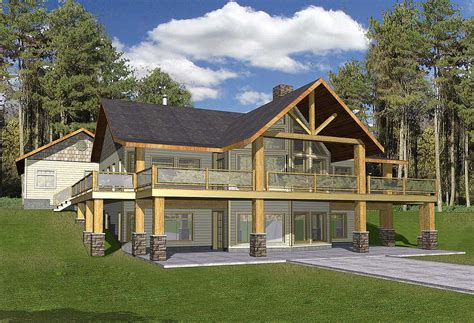 Mountain Home With Wrap-around Deck