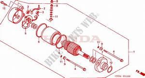 Starting Motor For Honda Fourtrax 250 Recon Standard 2002