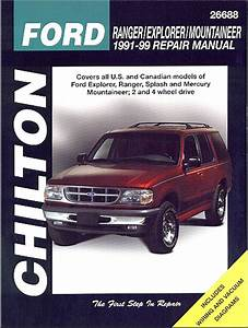 Ford Ranger  Explorer  Mountaineer Repair Manual 1991