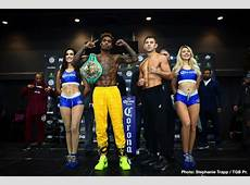 Jermall Charlo vs Matt Korobov Official WeighIn Results