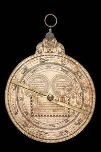 Astrolabe report (inventory number 34268)